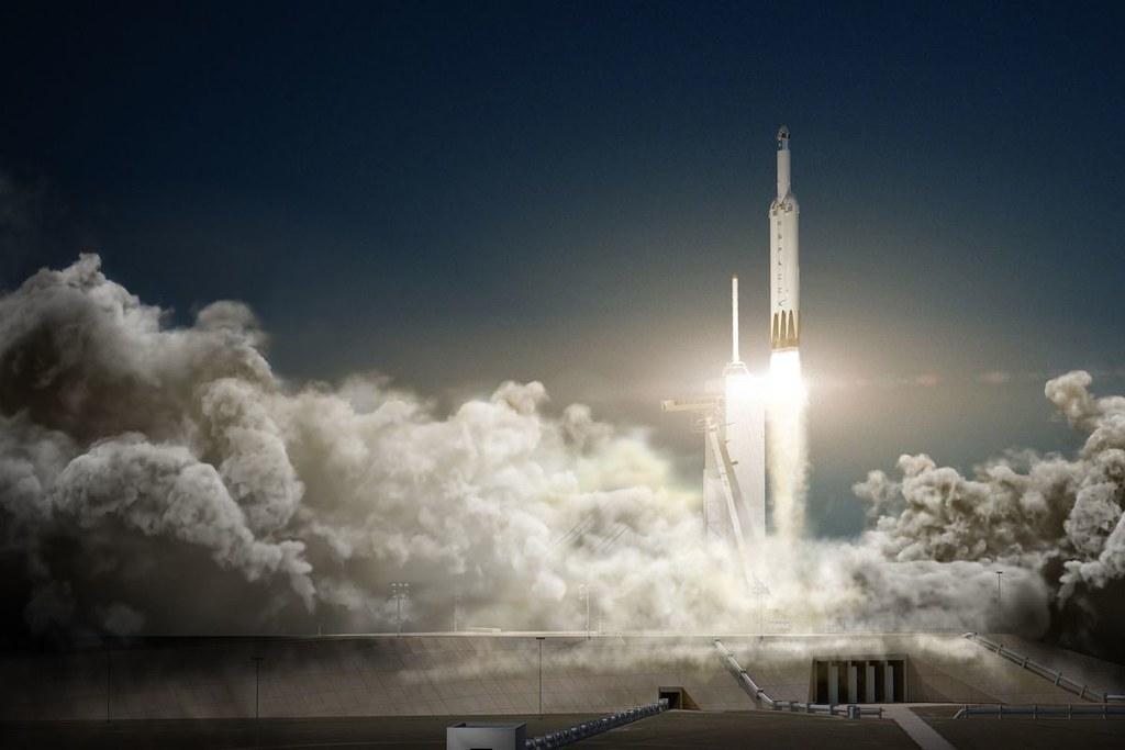 SpaceX vient de lancer sa fusée la plus puissante de tous les temps