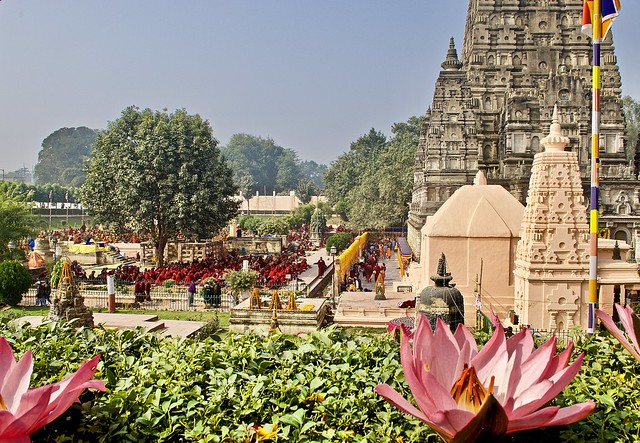 Mahabodhi temple - the origin of Buddhism