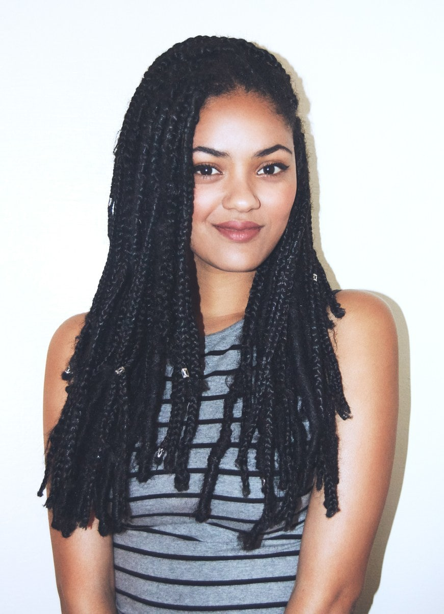 Single Box Braids Hairstyles Gallery-20 Ideas on Our Radar 3
