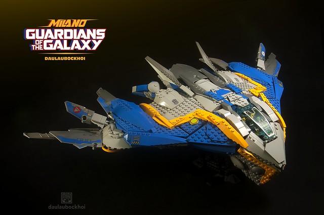 Lego THE MILANO SPACESHIP