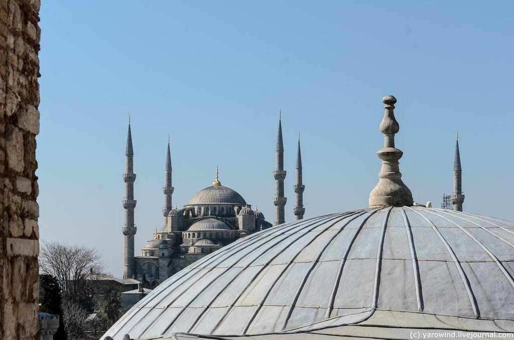Стамбул, вокруг Софии