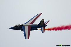 E46 5 F-UHRF - E46 - Patrouille de France - French Air Force - Dassault-Dornier Alpha Jet E - RIAT 2014 Fairford - Steven Gray - IMG_3307