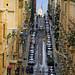 Straight streets of Valletta, Malta by Andrey Sulitskiy