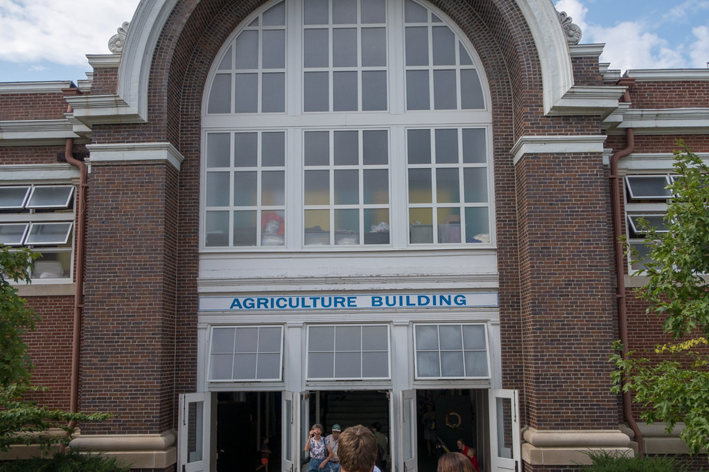 Agriculture Building at Iowa State Fair