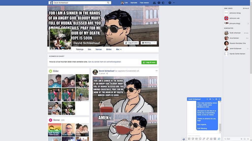 david australia facebook 1