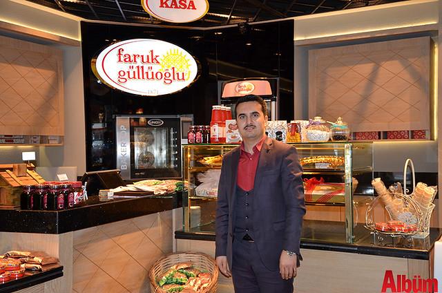 Faruk Güllüoğlu Baklavaları Alanya İşletme Müdürü İbrahim Alagöz