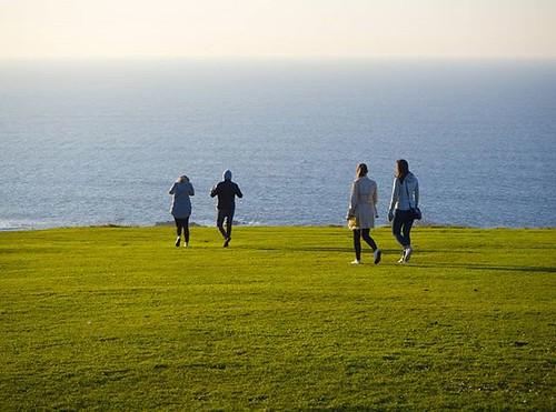 Paseo ante la inmensidad del océano. #sanpedro #park #Coruña #olympusomd #olympus #photography