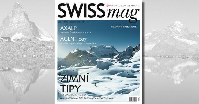 SWISSmag 13 - podzim/zima 2015/16