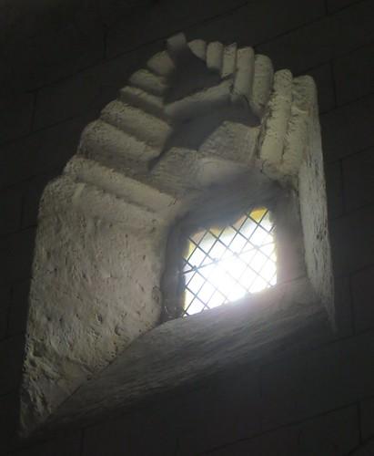 Fenestron, église romane, St Blaise (XIIe-XIIIe), Lacommande, Béarn, Pyrénées-Atlantiques, Nouvelle-Aquitaine, France.