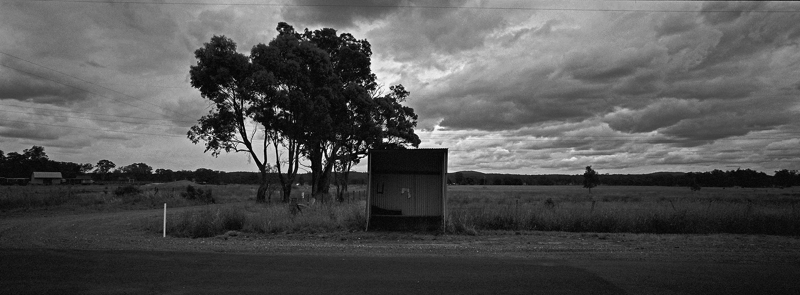 Victorian Country Bus Stop