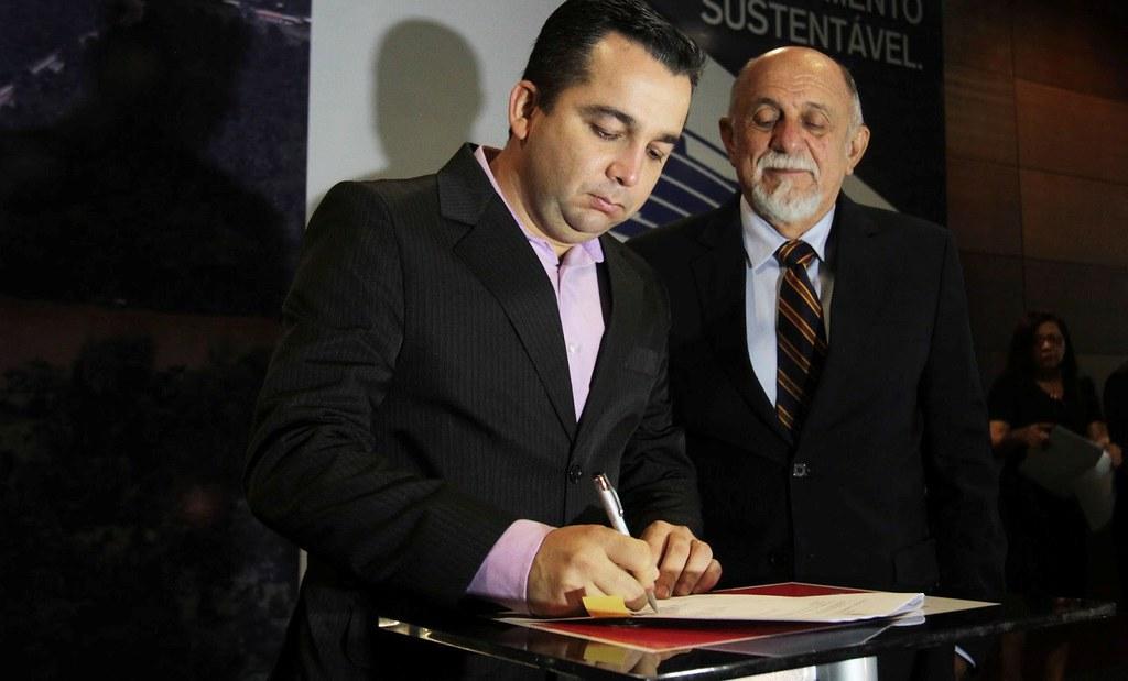 Ex-Codec, Olavo das Neves é oficializado na Secretaria Regional do Baixo Amazonas, Olavo das Neves e Simão Jatene