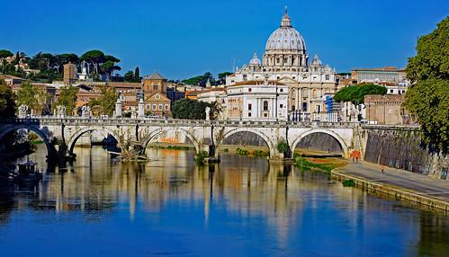 Rome qui ne m'a pas vu naître mais que mon coeur adore