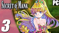 SECRET OF MANA REMAKE Gameplay Playthrough Parte #3 PC 1080p 60fps - Sem Comentários