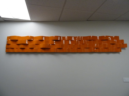 Mark Combs Waveform Wood and Paint Student Union Permanent Collection 2016