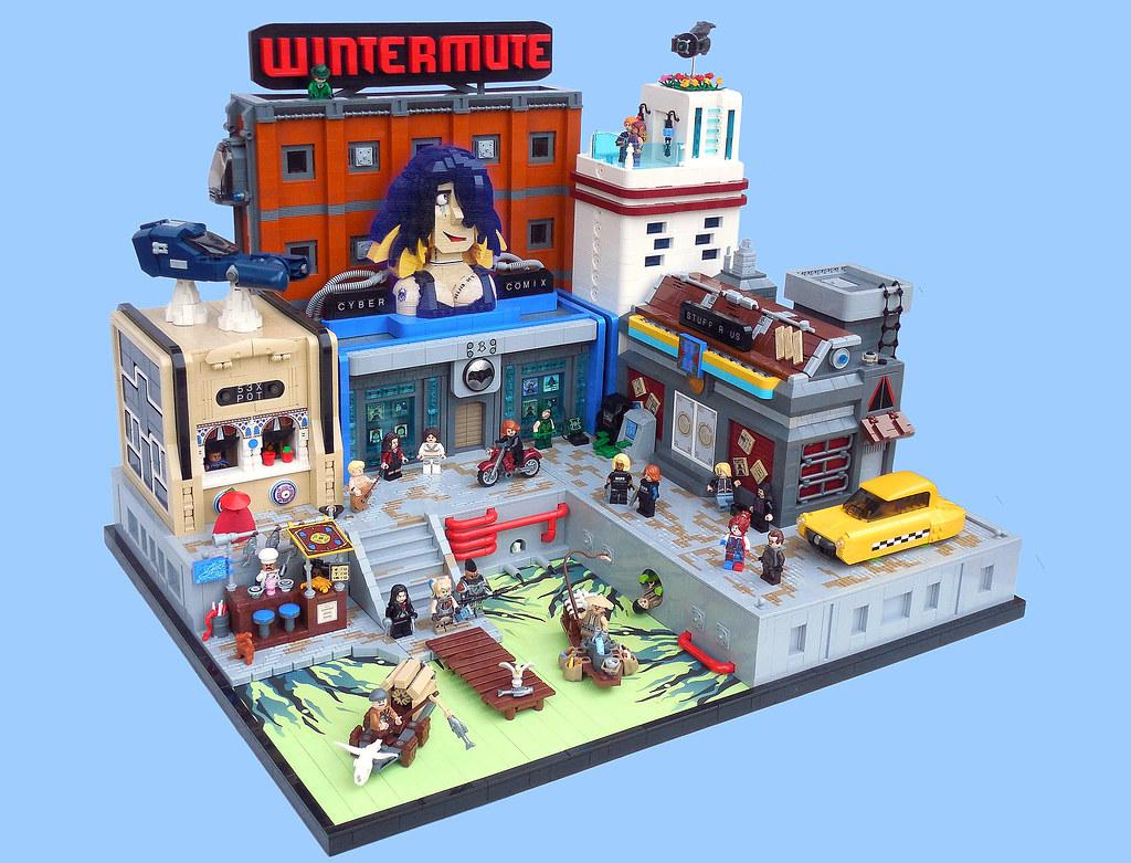 LEGO® MOC by Vitreolum: Rundale-Bren Pier