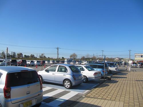 金沢競馬場の駐車場
