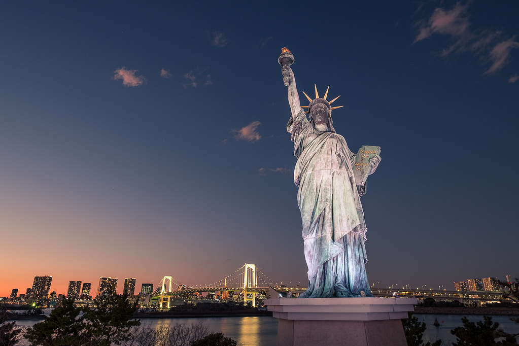 The Statue of Liberty, Tokyo, Japan picture