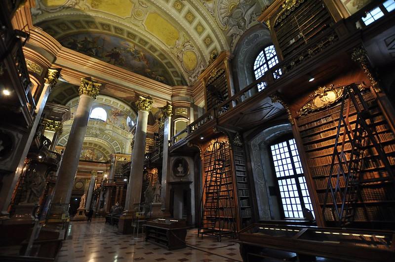 Wien, Österreichische Nationalbibliothek, Prunksaal (1726)