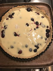 Finnish Blueberry Tart