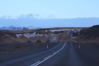 ISLAND Sólheimajökulsvegur