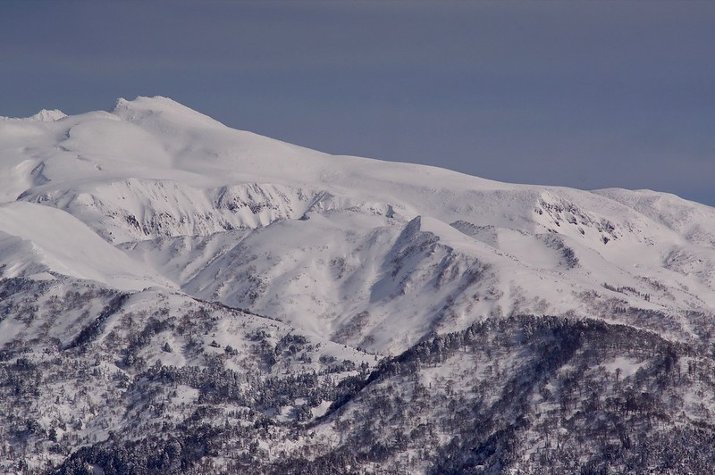 HAKUSAN MOuntain range from Mt. NISHIYAMA