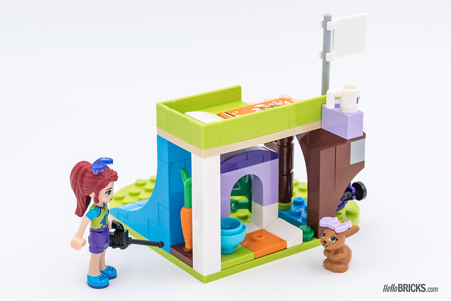 REVIEW LEGO Friends 2018 - LEGO 41327 Mia's Bedroom 2