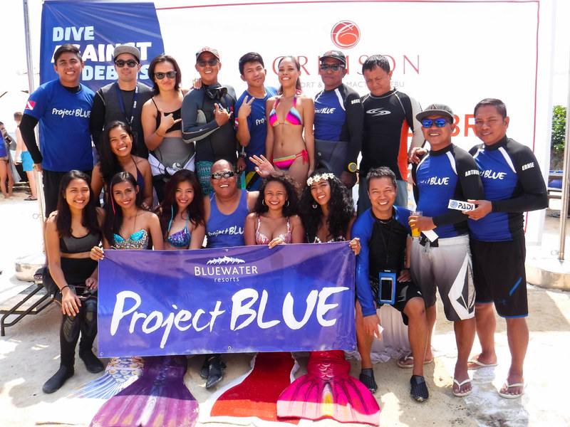 Project BLUE group photo