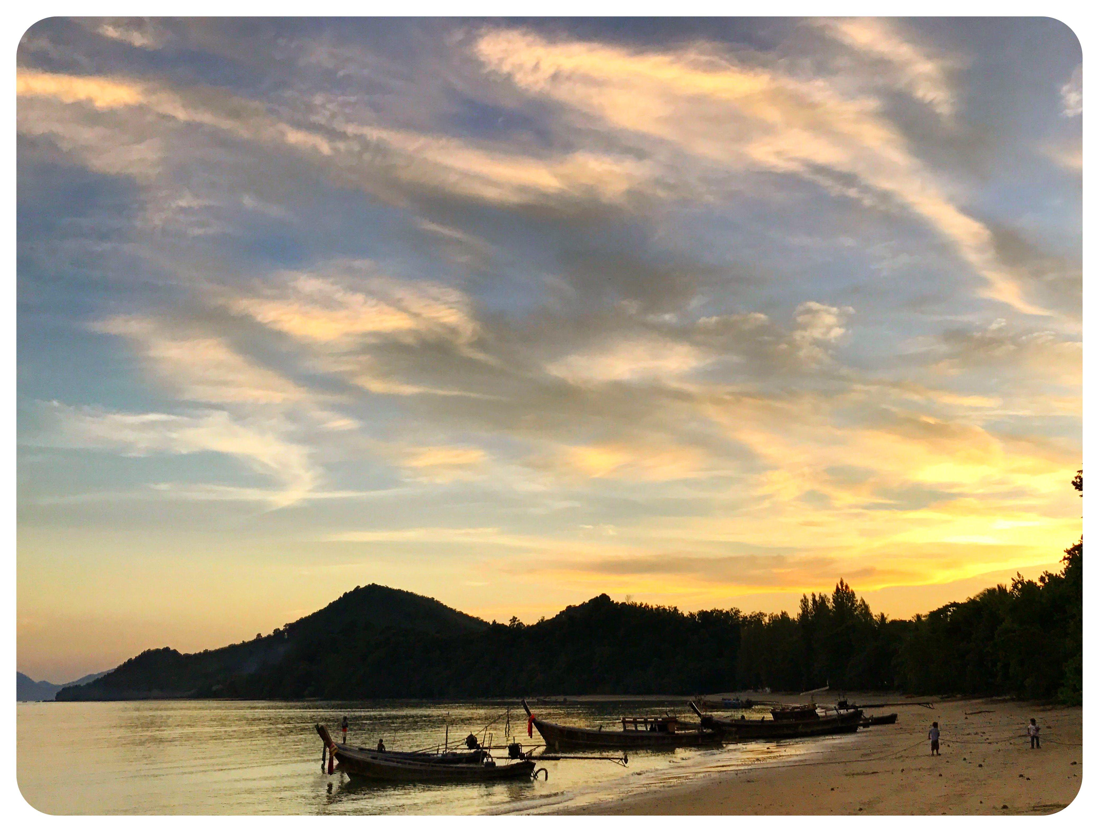 koh yao noi sunset