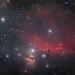 NGC 2024 Flammennebel und IC 434 Pferdekopfnebel