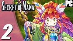 SECRET OF MANA REMAKE Gameplay Playthrough Parte #2 PC 1080p 60fps - Sem Comentários