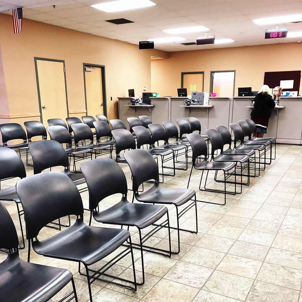empty DMV