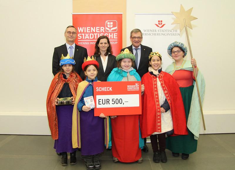 Königlicher Besuch im Ringturm der Wiener Städtischen