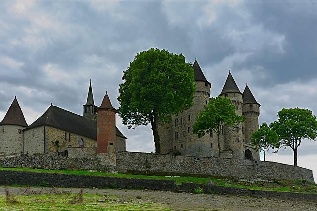 Cantal, dans le pays d'Artense, en région Auvergne-Rhône-Alpes