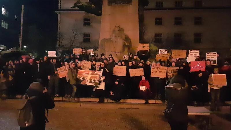 18_01_18_Solidarita s polskými ženami #CzarnyProtest
