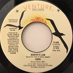 CHERI:MURPHY'S LAW(LABEL SIDE-A)