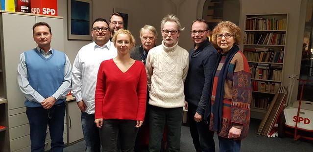 Vorstand der SPD Harburg-Sued 2018