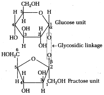 neet chemistry notes biomolecules structure of fructose 3