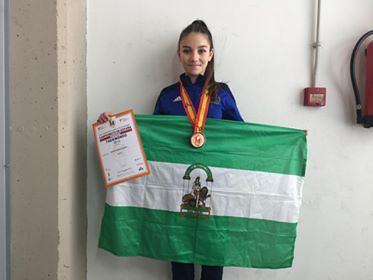 Marta Cordeo, bronce del Campeonato de España de Taekwondo