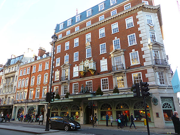fortnum and mason façade