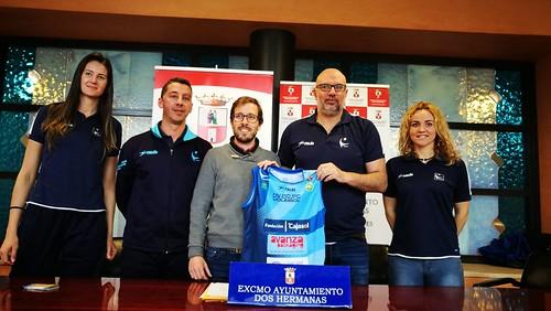 Presentación del partido de la jornada de Superliga del Cajasol y Barcelona