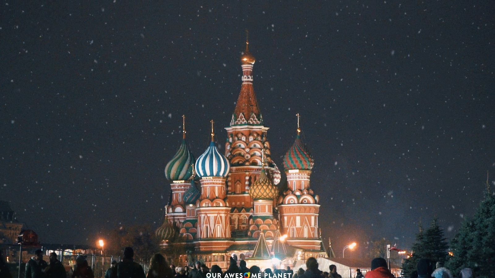 A Tour of Russia's Greatest Cities: Moscow, St. Petersburg and Murmansk (Video)