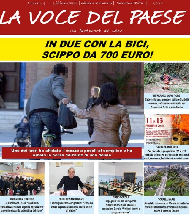 Noicattaro. copertina n. 4 intero