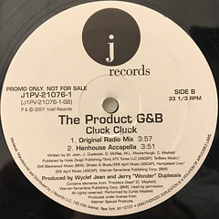 THE PRODUCT G&B:CLUCK CLUCK(LABEL SIDE-B)