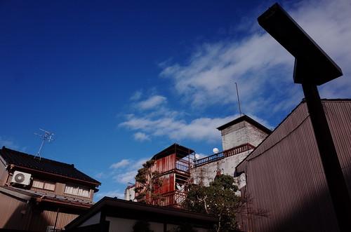 富山の街をめぐりヒカリを写した