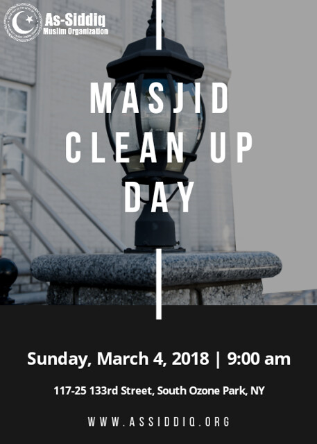 Masjid Clean Up