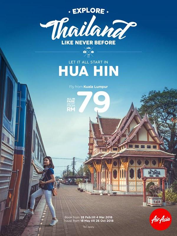 AirAsia KUL to Hua Hin