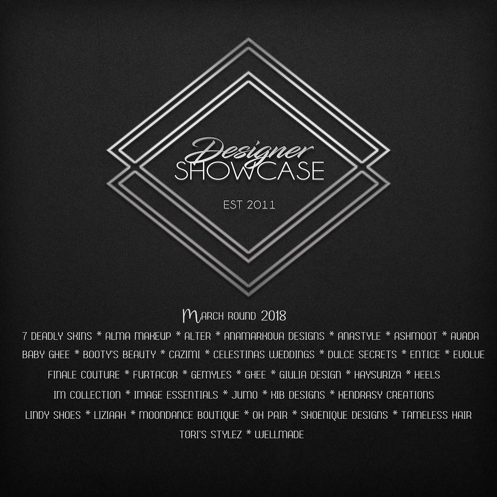 Designer Showcase-March- 2018 - TeleportHub.com Live!