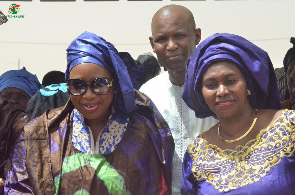 Inauguration d'infrastructures  de base à Mbakhna Par la Fondation SONATEL (105)