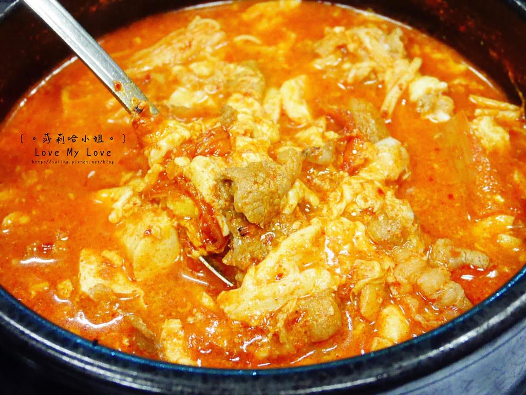 台北信義區莊敬路好吃韓國料理逢香豆腐鍋 (11)