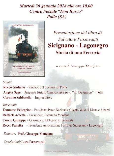Presentazione libro a Polla Sicignano-Lagonegro